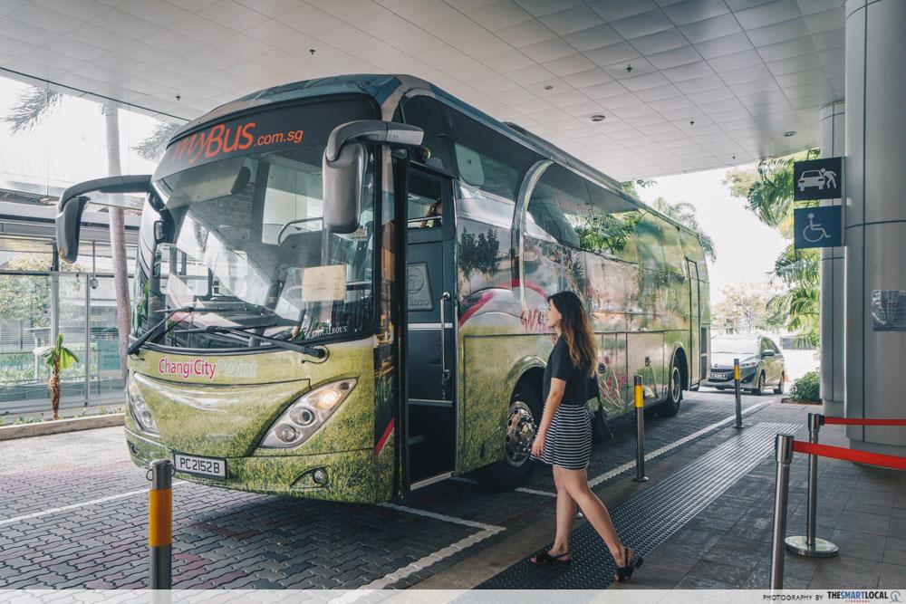 Changi Business Park - shuttle bus