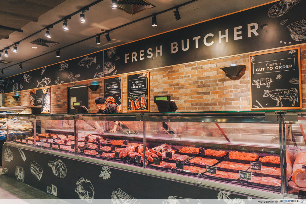 Cold Storage Great World Singapore CS Fresh Butcher
