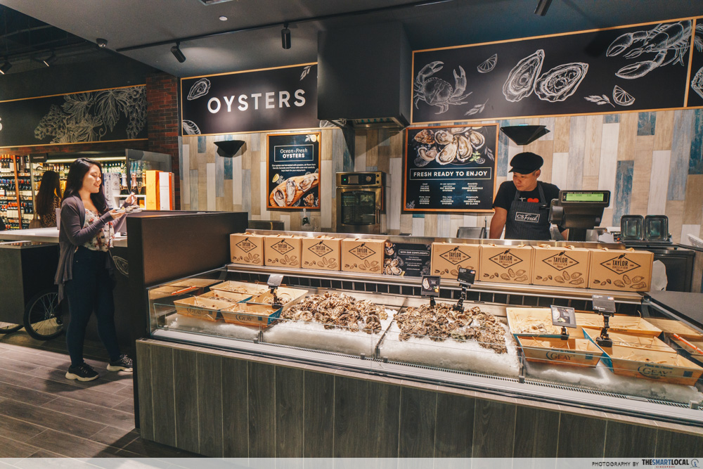 Cold Storage Great World Singapore CS Fresh Oyster Bar