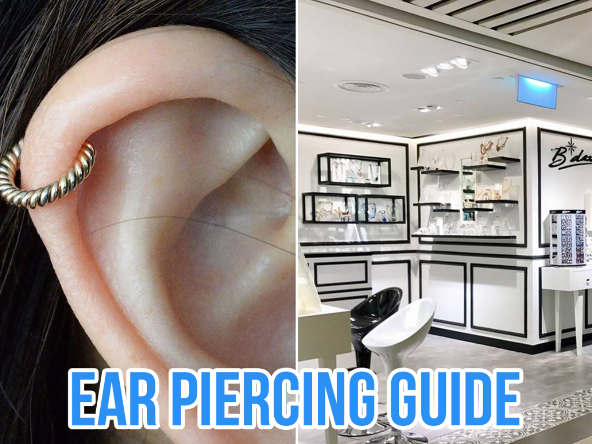 Guide To Ear Piercings Types Aftercare Where To Get It Done In Singapore