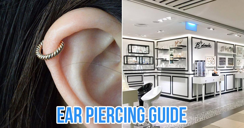 ear piercing in singapore