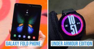 Samsung Galaxy Fold and Galaxy Watch Active2