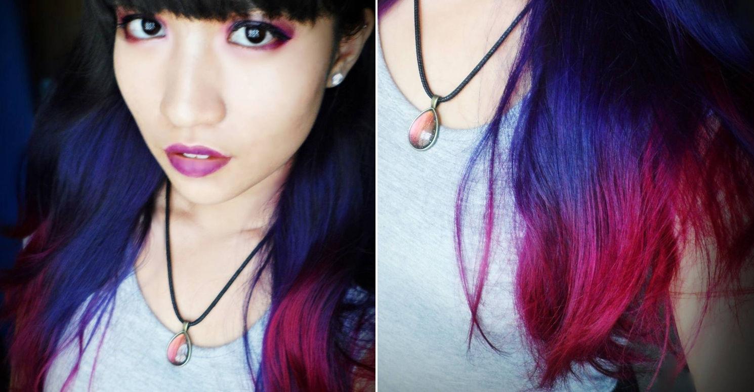 La Riche directions pink purple hair