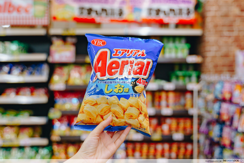 Aerial corn chips