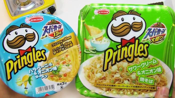 Pringles cup noodles