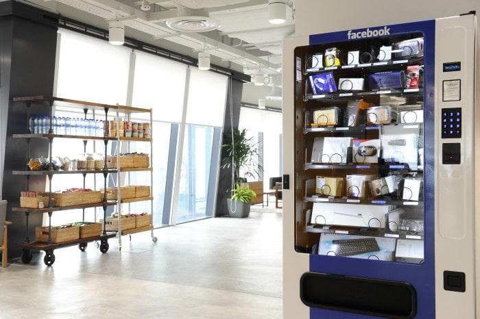 Electronics Vending Machine Employee Perks
