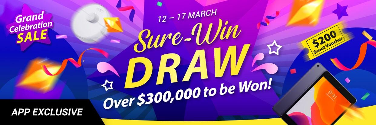 Ezbuy Sure Win Draw