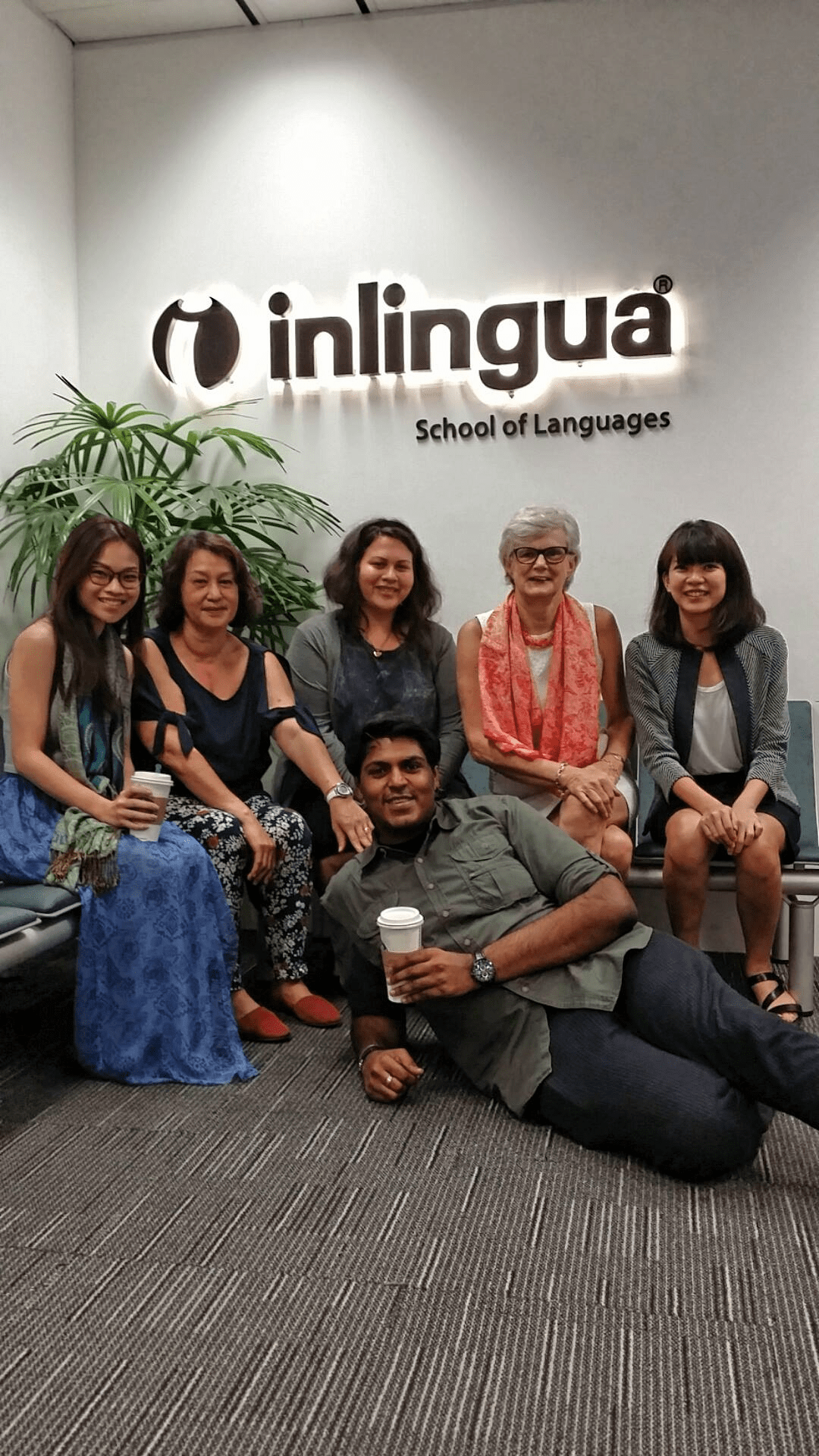 Group of students at Inlingua