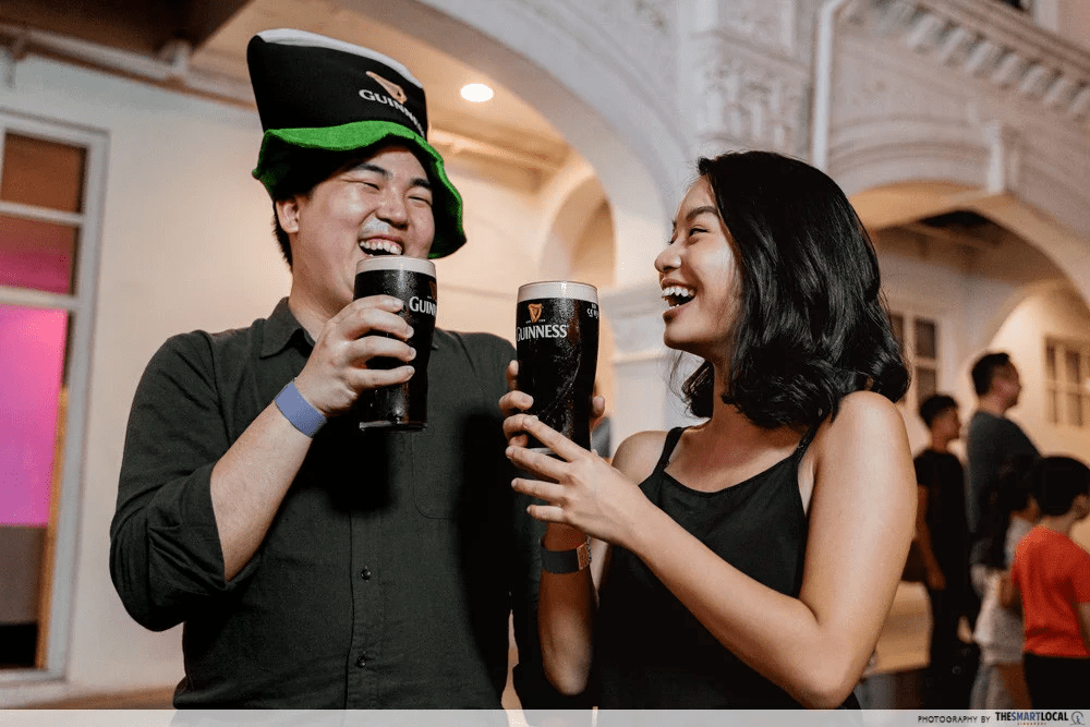 Guinness St Patricks Festival Pop-Up Bar 2020