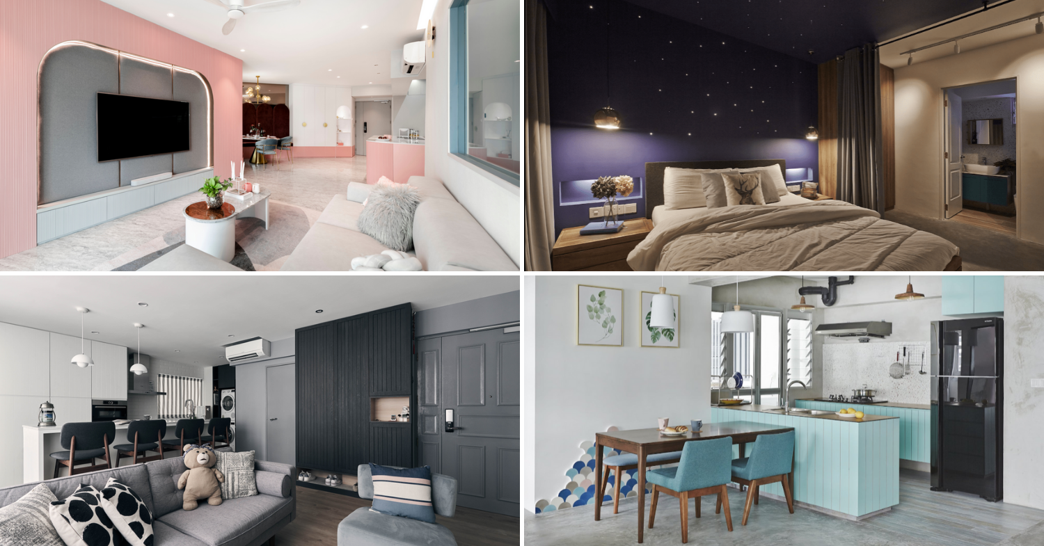 12 Eye Catching Hdb Renovation Ideas That Stand Out From Scandi Style Singaporean Homes