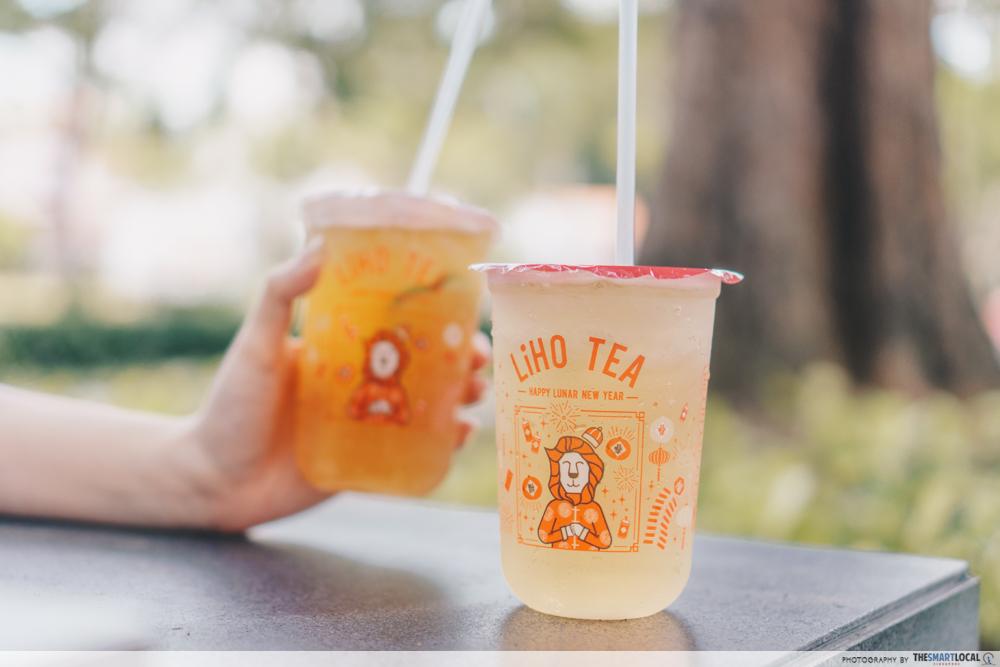 LiHo Tea - healthier drinks