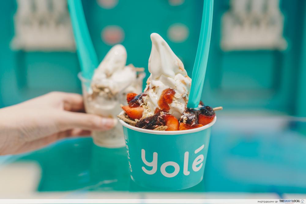 Yole frozen yoghurt