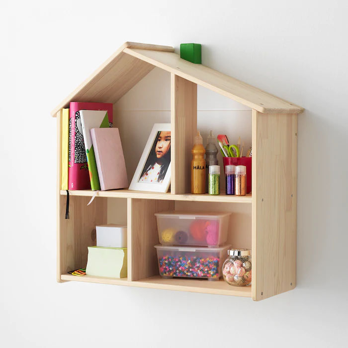 FLISAT dollhouse shelf