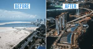 Landmarks in Singapore cover