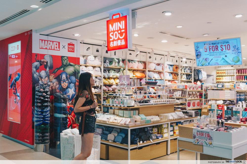 Miniso Singapore store