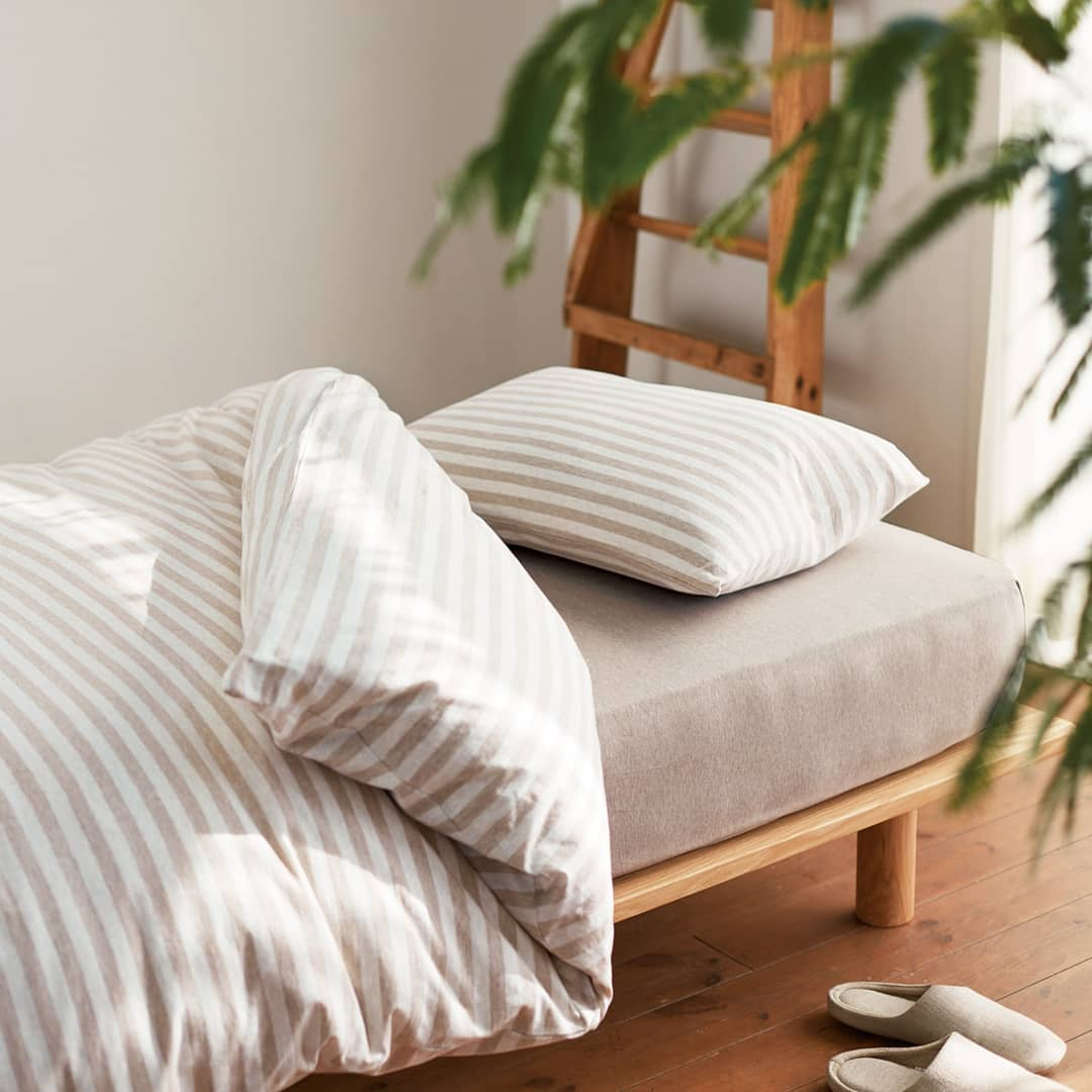 duvet and pillowcase