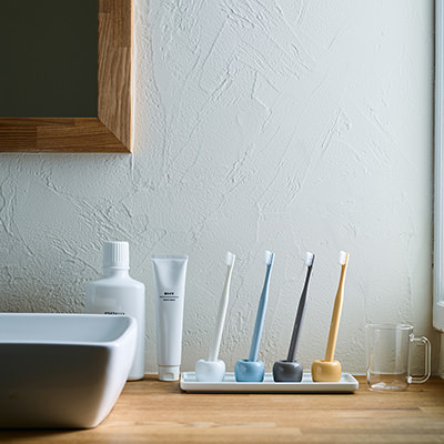 Muji toothbrush holders