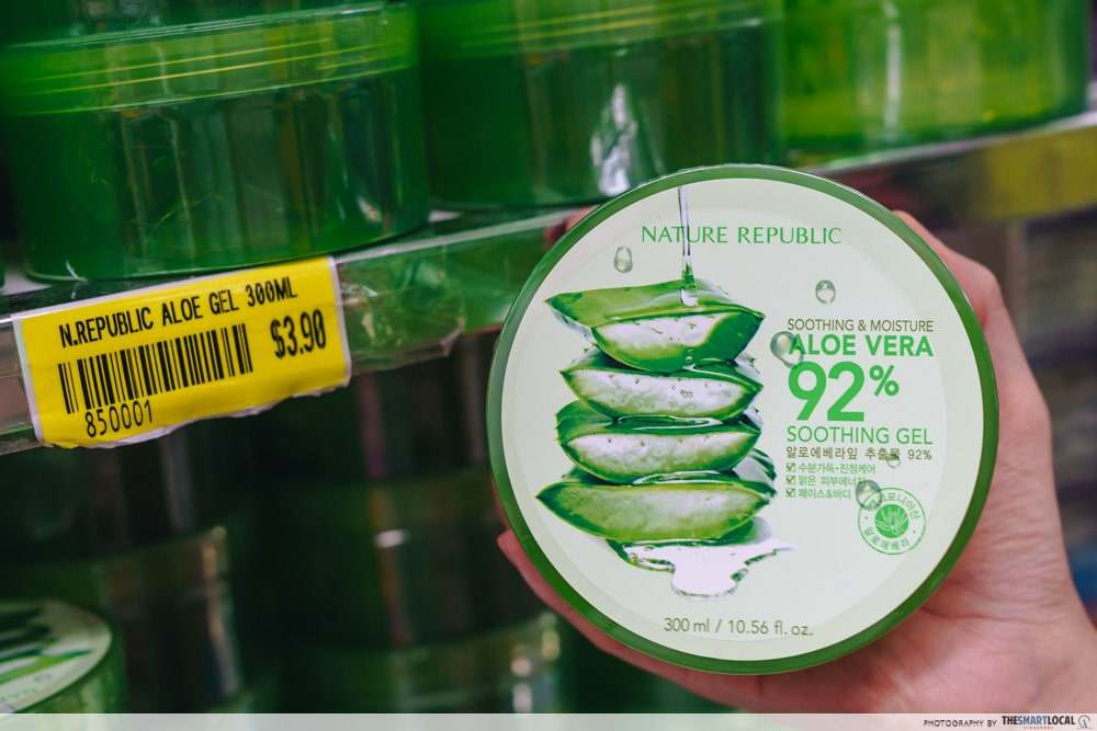 Nature Republic Aloe Soothing Gel Cheap Skincare