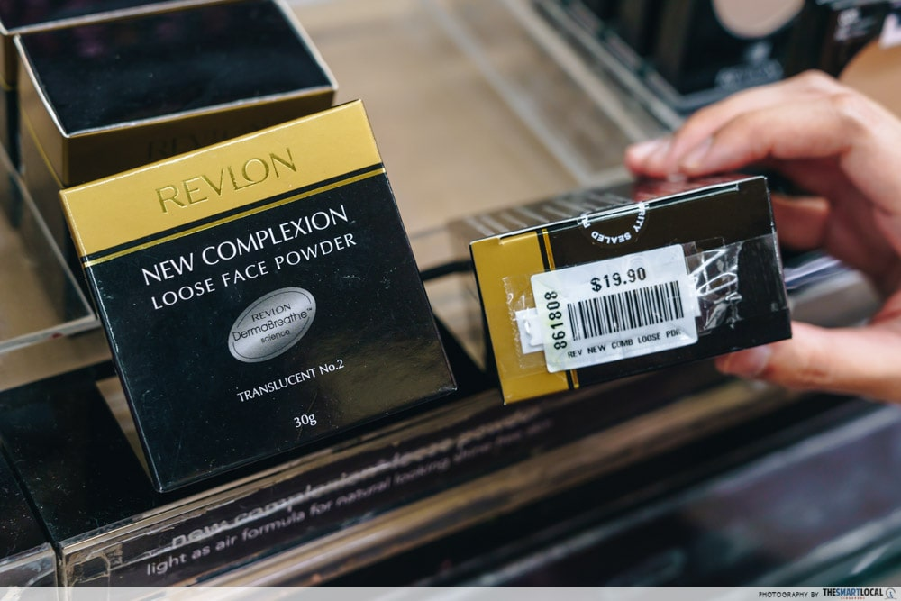 Revlon Setting Powder is a cheap makeup and skincare choice in Mustafa Centre.
