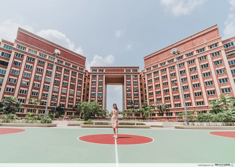 Resilience budget - basketball court