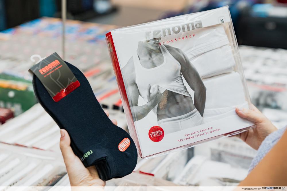 Robinsons Atrium Sale Plaza Singapura 2020 Renoma Socks Singlet