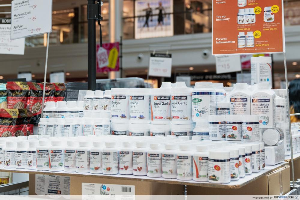 Robinsons Atrium Sale Plaza Singapura 2020 Vitamins Supplements