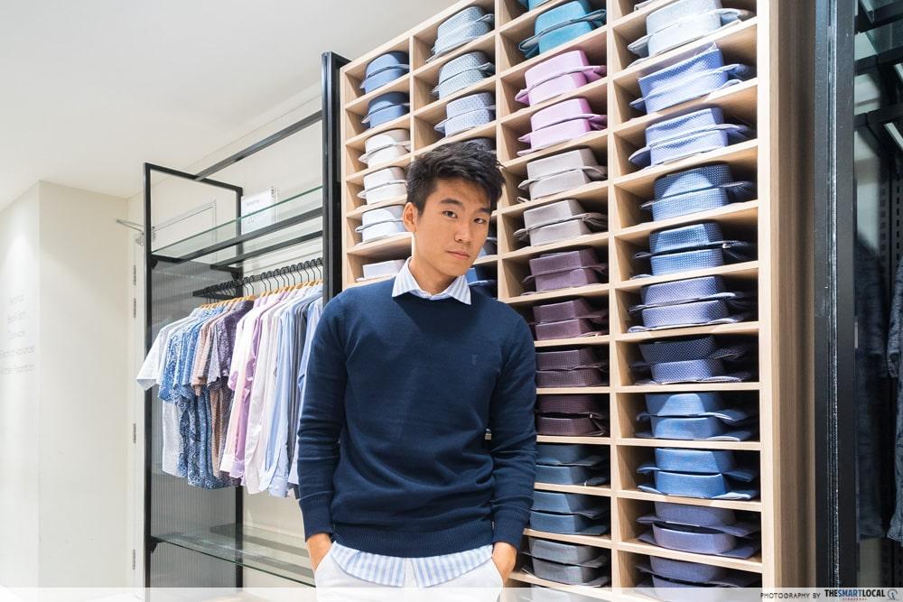 fashion tip for layering men
