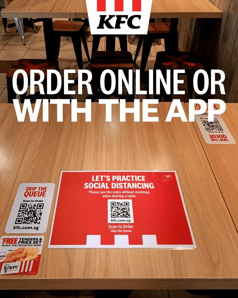 KFC Social Distancing