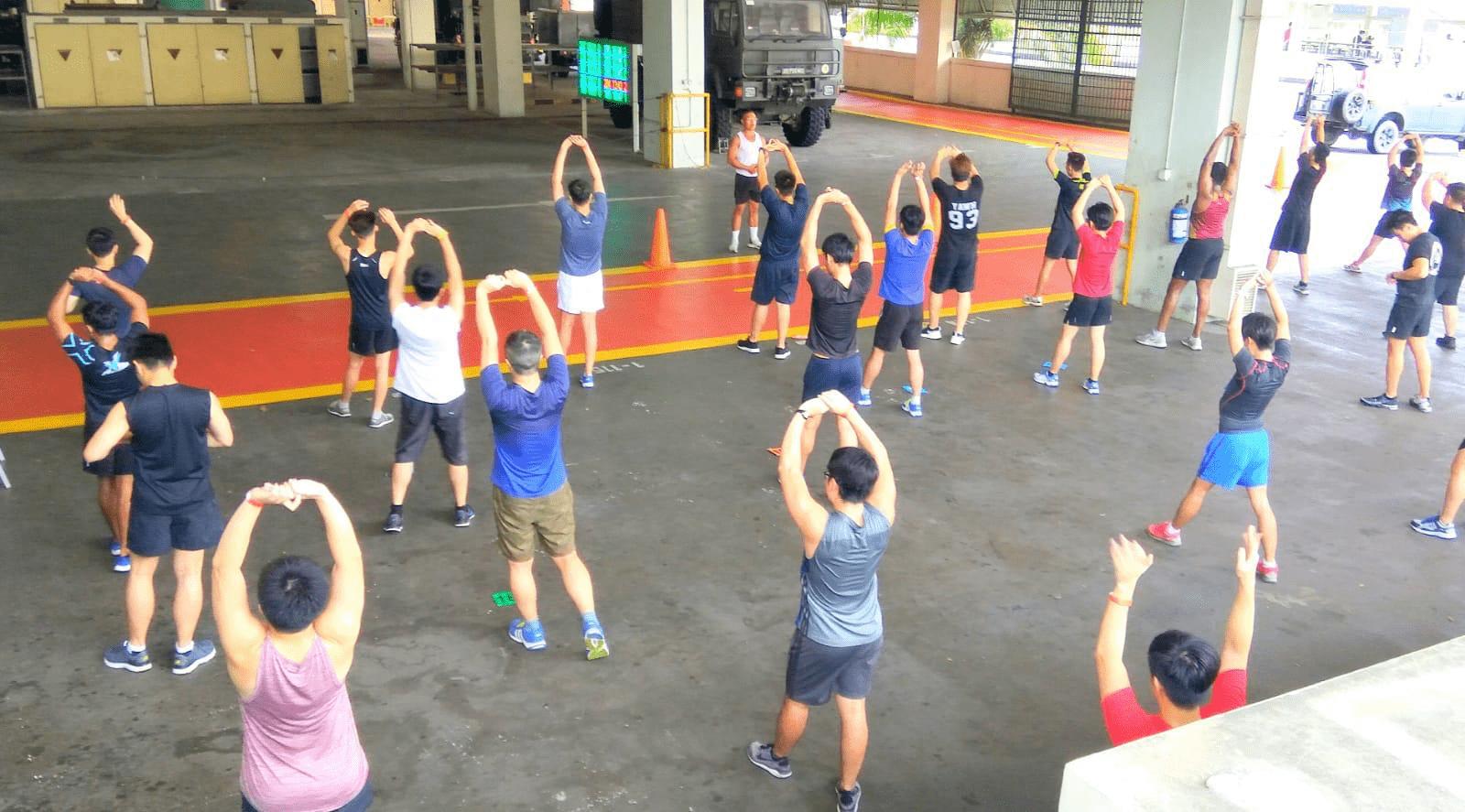 Exercise Singapore IPPT