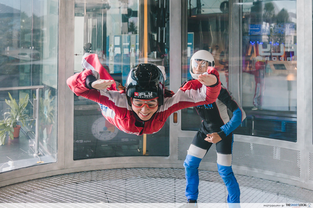 Unique things to do - iFly Singapore