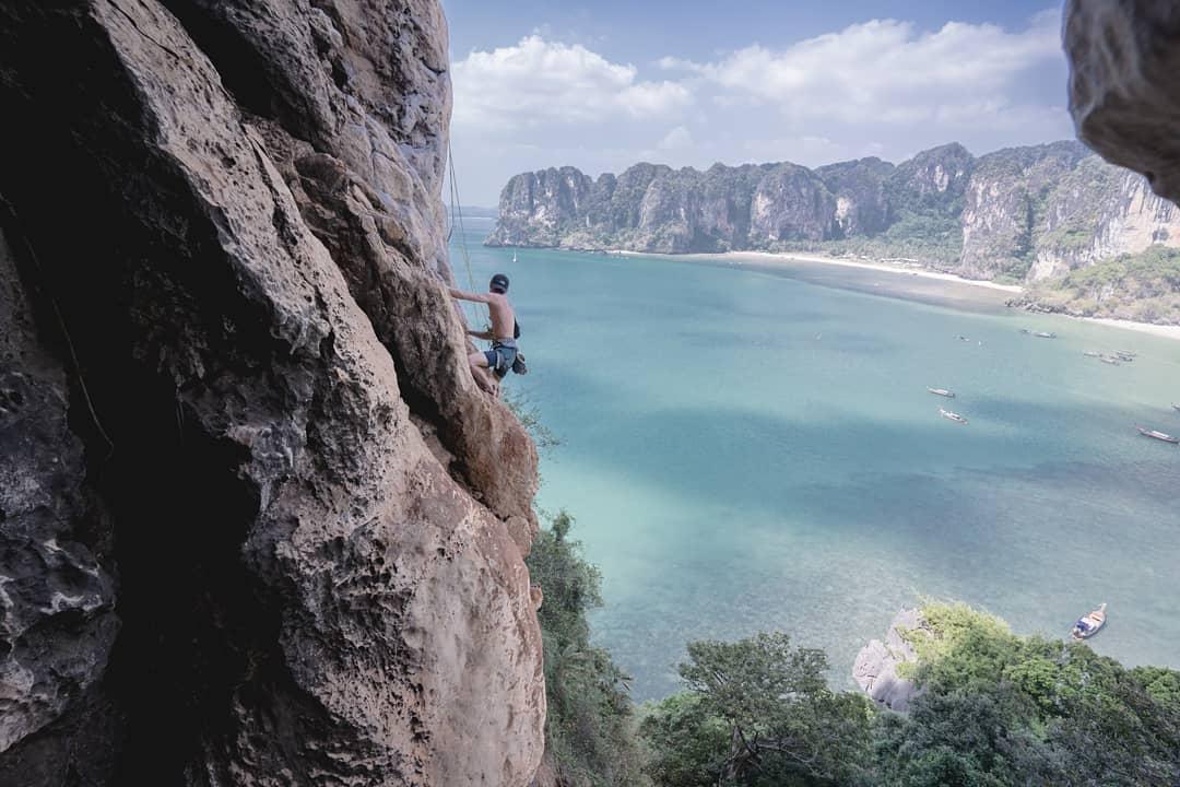 Krabi - rock climbing
