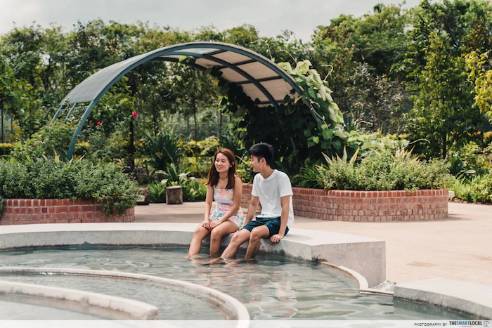 Unique things to do - Sembawang Hot Spring