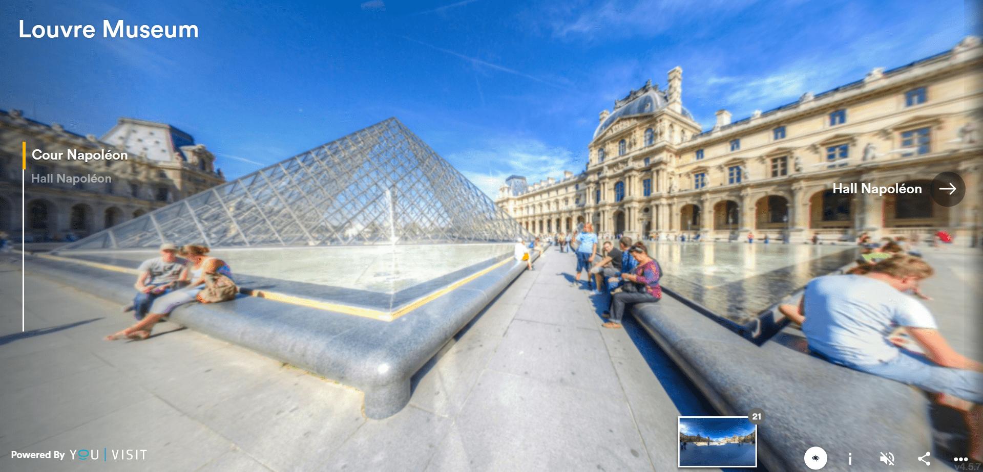 Louvre Museum Paris Free Online Tour