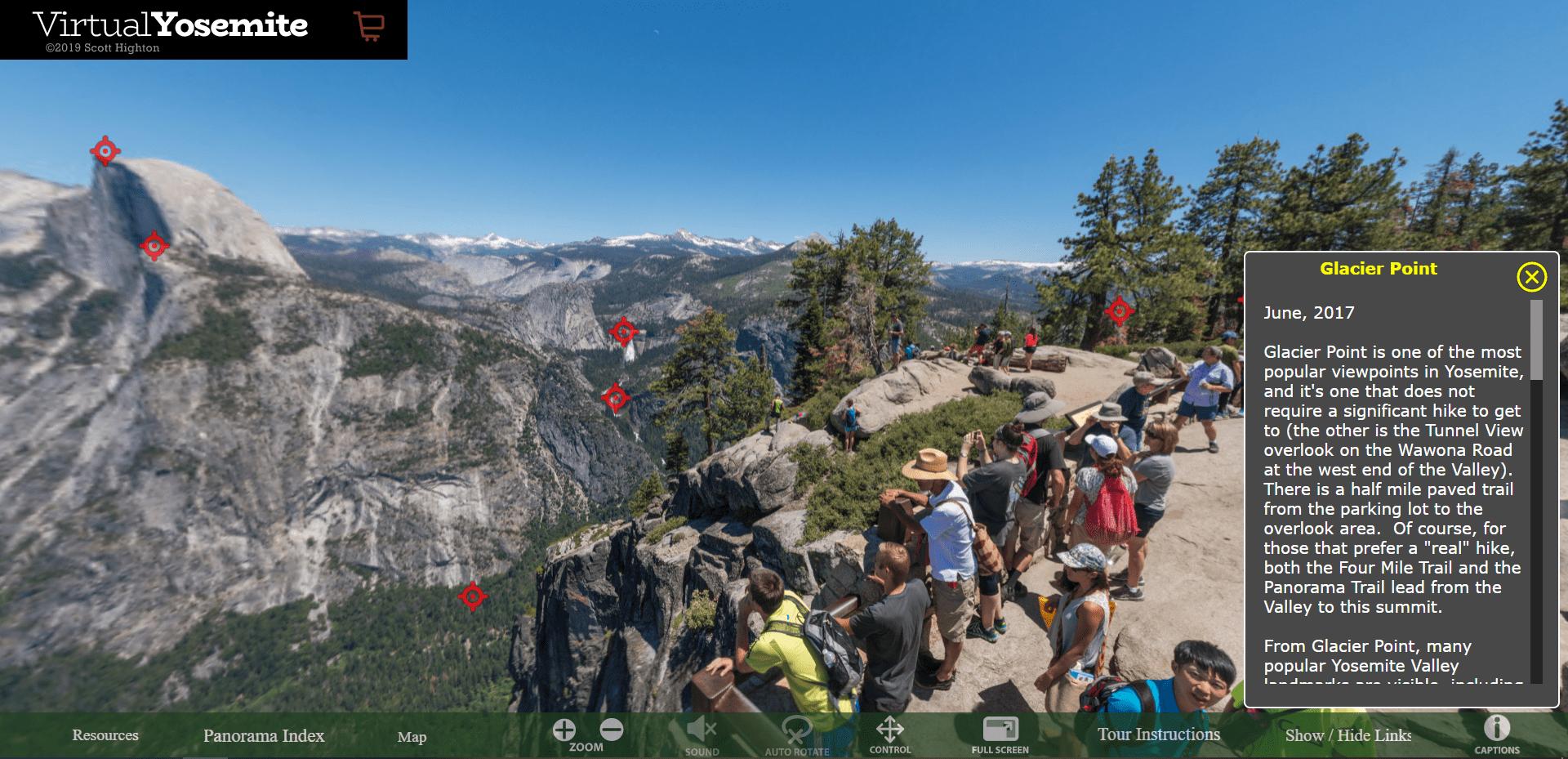 Yosemite National Park Free Online Tour