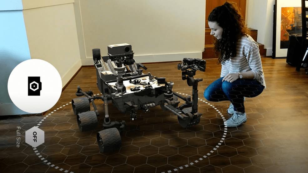 NASA Free Augmented Reality AR App