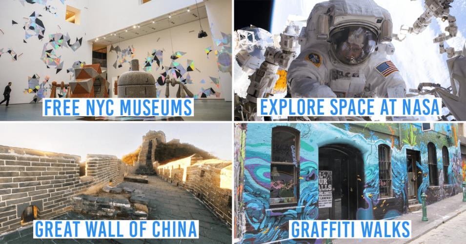 Free Virtual Travel Experiences 2020