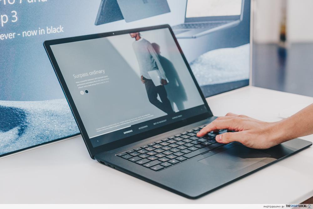 Microsoft Surface Laptop 3 - gain city tech show