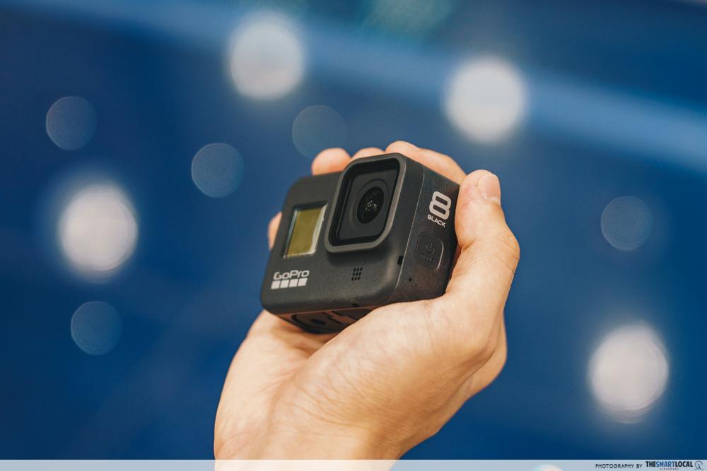 GoPro Hero 8 - gain city tech show