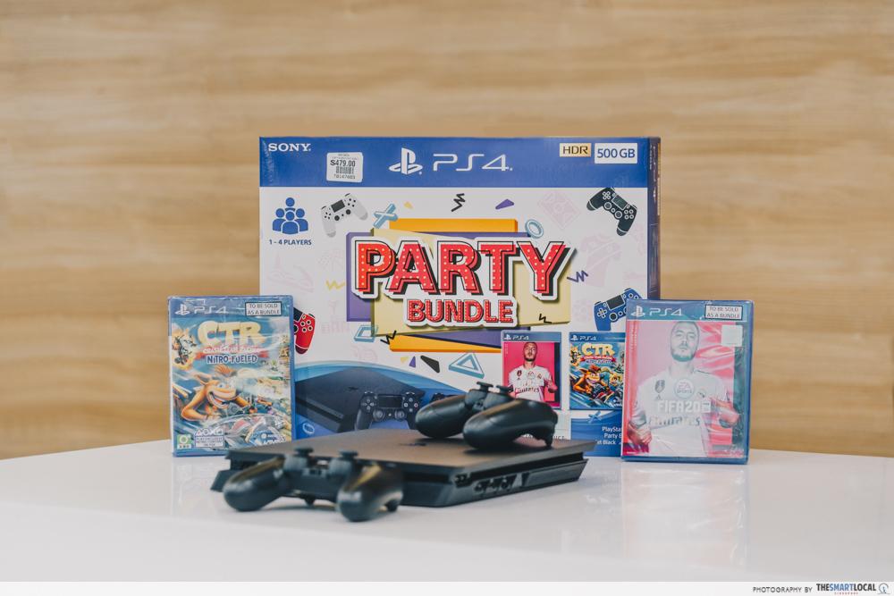 PS4 Party Bundle - gain city tech show