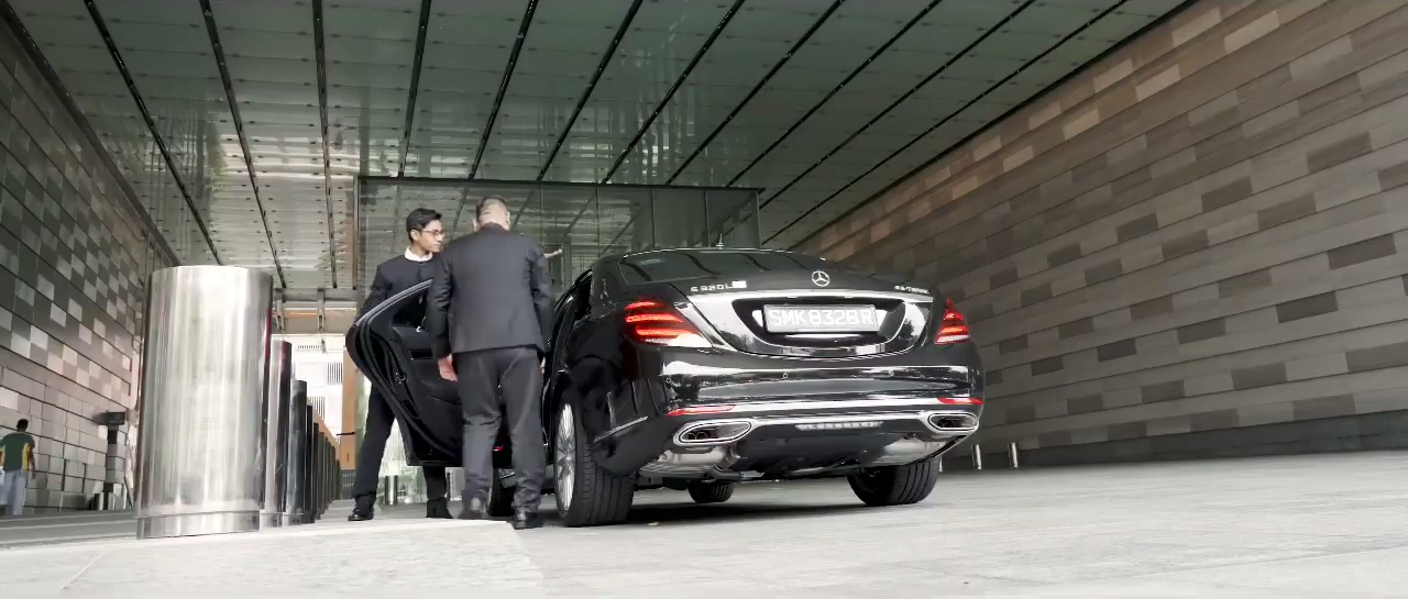 Butler Singapore offers not only cleaning services, but can chauffeur you around town.
