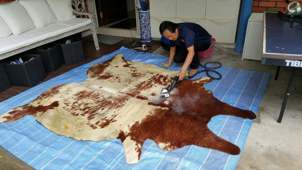 Home Cleanz offers one of the wider range of cleaning services in Singapore, including rug cleaning.