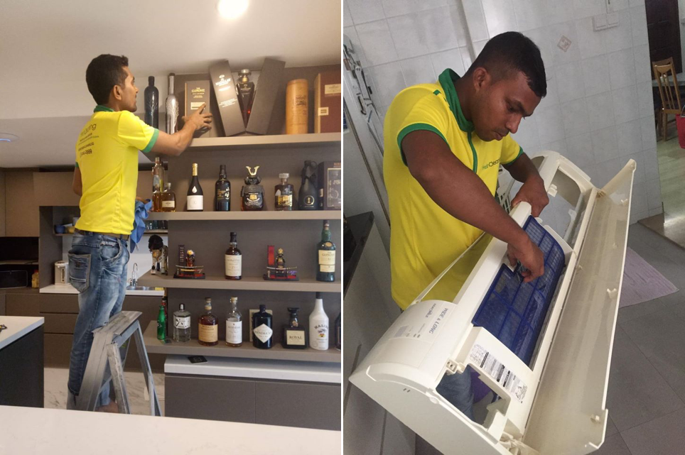 Fresh Cleaning is an ideal cleaning service in Singapore for those looking for spring cleaning with equipment provided.