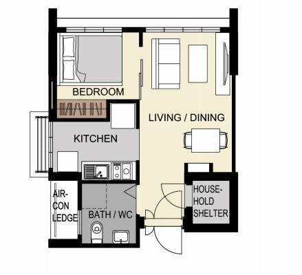 2-room flexi