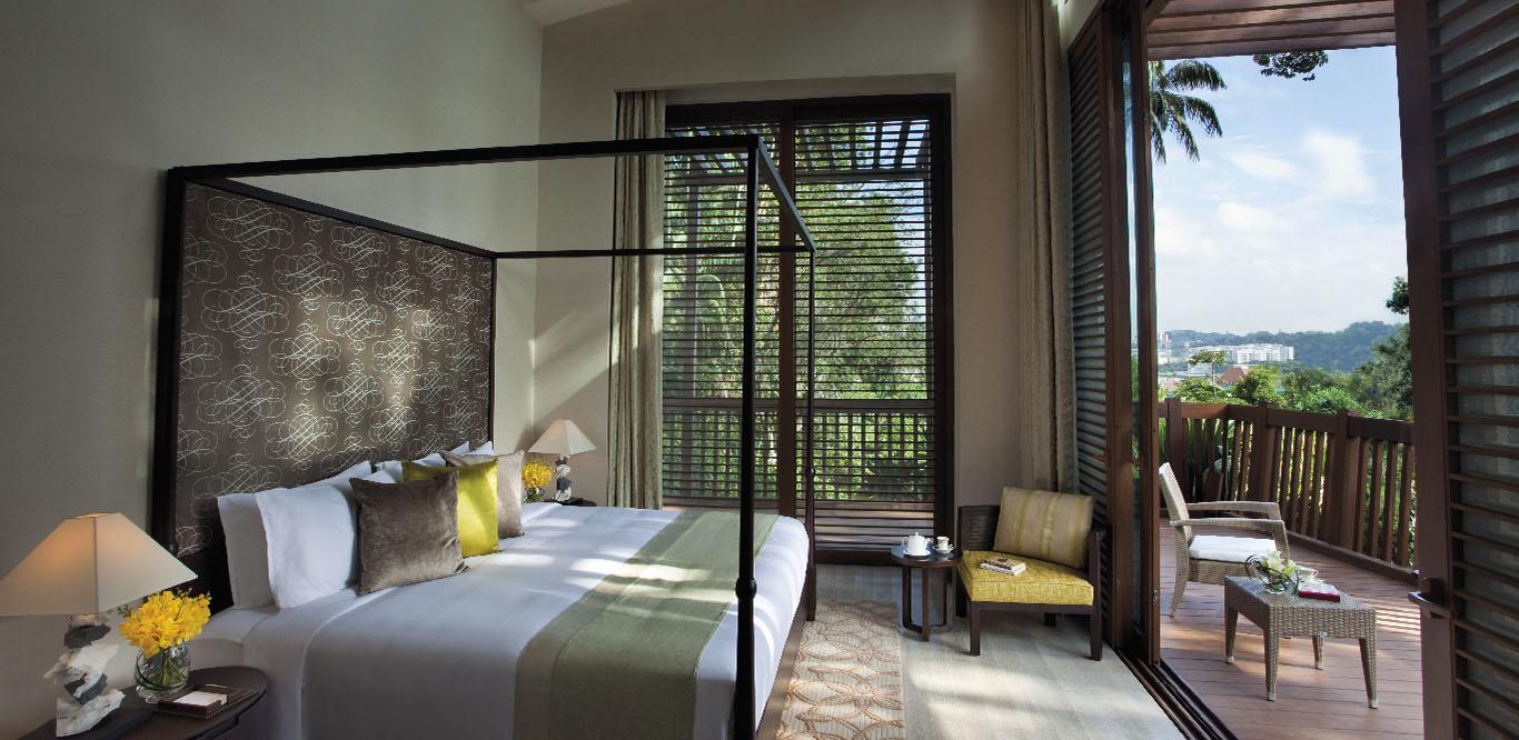 RWS TreeTop Lofts Hotelbedroom