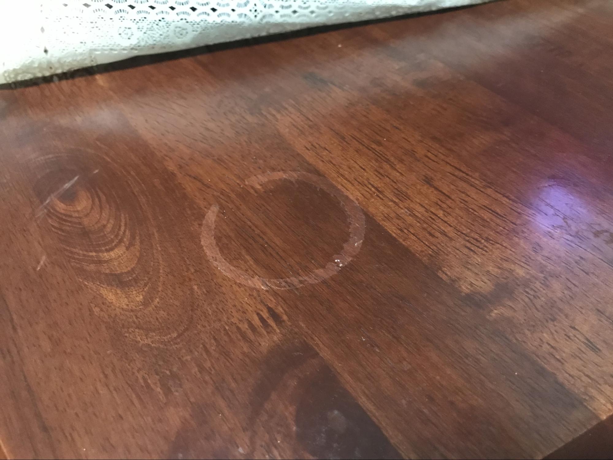 Watermarked wood