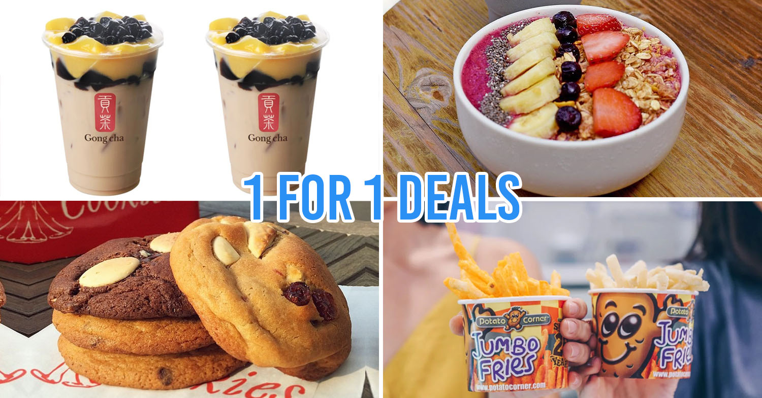 ChopeDeals Now Has 1-For-1 Bubble Tea & Up To 60% Off At Over 50 Restaurants & Cafes