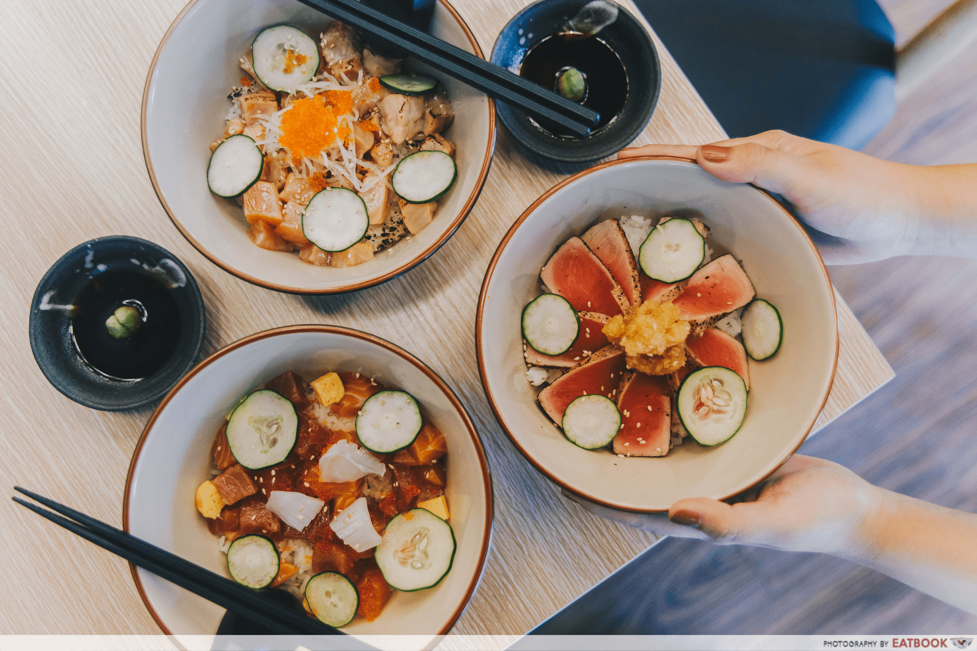 umi nami japanese rice bowl