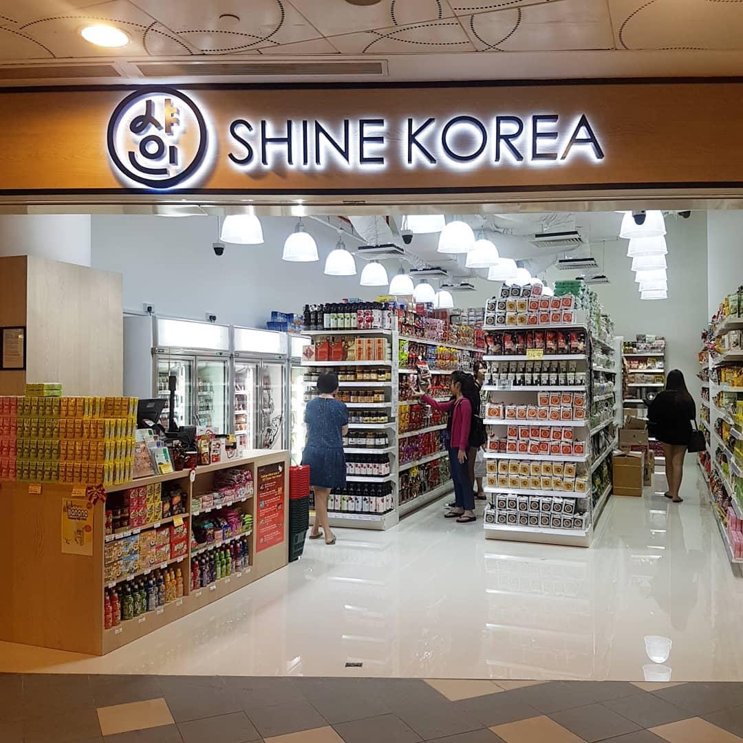 shine korea supermarkets
