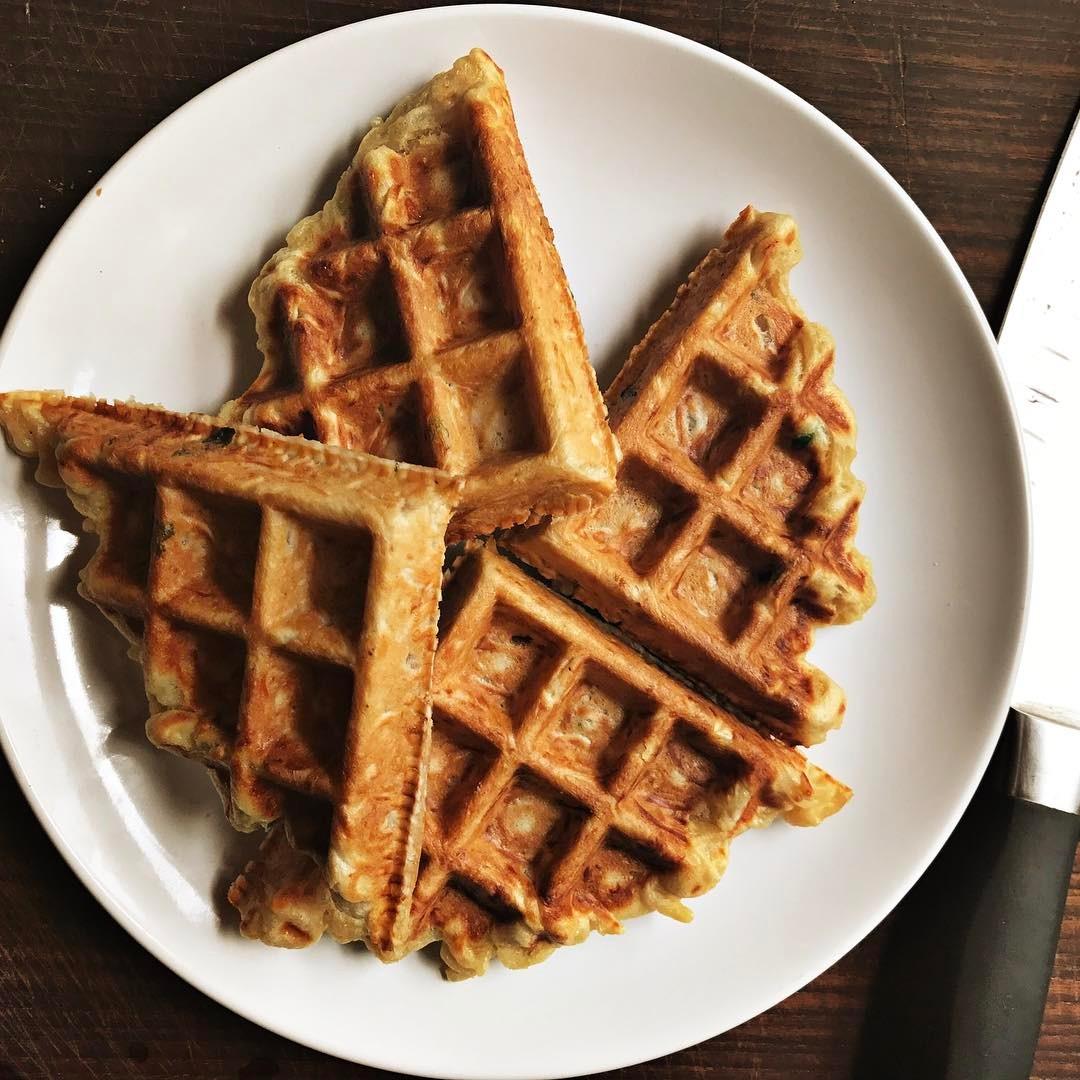 Maggi Mee waffles