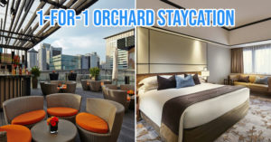 1-for-1 deal at Mandarin Orchard Hotel